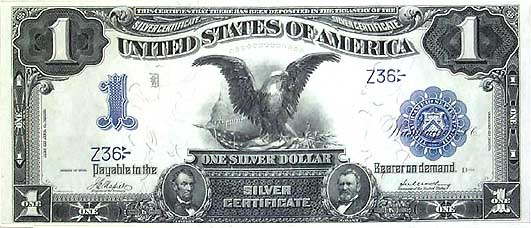 United States Currency - 1899 \