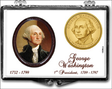 Presidential Dollar Snaplock Displays