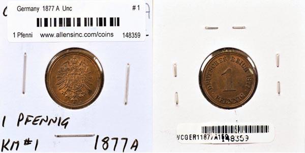 World Coins Germany Pfennigs