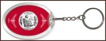 Alabama State Quarter Keychain