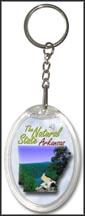 Arkansas State Quarter Keychain
