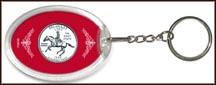Delaware State Quarter Keychain