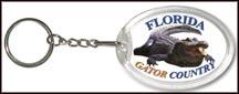 Florida State Quarter Keychain