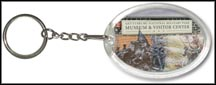Gettysburg National Military Park Quarter Keychain
