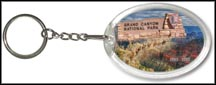 Grand Canyon National Park Quarter Keychain