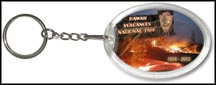 Hawai'i Volcanoes National Park Quarter Keychain