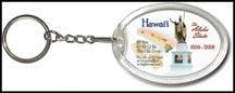 Hawaii State Quarter Keychain