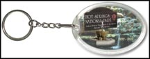 Hot Springs National Park Quarter Keychain
