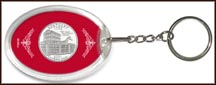 Kentucky State Quarter Keychain