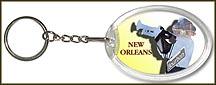 Louisiana State Quarter Keychain