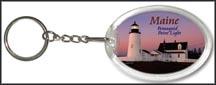 Maine State Quarter Keychain