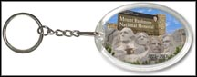 Mount Rushmore National Memorial Quarter Keychain
