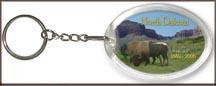 North Dakota State Quarter Keychain