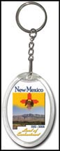 New Mexico State Quarter Keychain