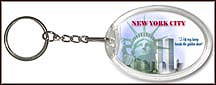 New York State Quarter Keychain