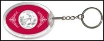 Oklahoma State Quarter Keychain