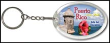 Puerto Rico State Quarter Keychain
