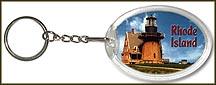 Rhode Island State Quarter Keychain