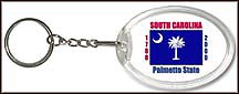 South Carolina State Quarter Keychain