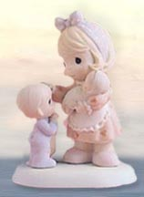 Precious Moments Figurines - You Have Such A Special Way Of Caring