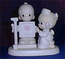 precious moments figurines my heart is exposed with love