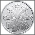Twins Silver Medallion