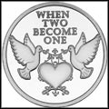 When Two Became One Silver Medallion